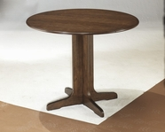 ASHLEY Stuman D293-15 Round drop leaf table