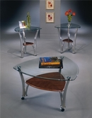 Ashley Rendezvous T143-13 3-in-1 Pack occasional table set