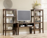 Ashley T334-10-2x11 Deagan TV stand set