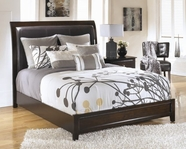 ASHLEY Templenz B538-56/58/97 King wood panel bed