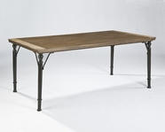 ASHLEY Tripton D530-25 Rectangular Table (metal base)