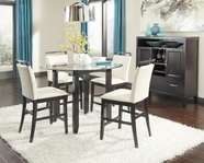 ASHLEY Trishelle D550-13B-D100-40T-124 Round Counter Height Dining Set