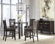 ASHLEY Trishelle D550-13B-D100-40T-224 Round Counter Height Dining Set