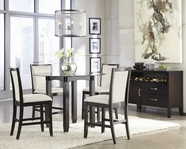 ASHLEY Trishelle D550-13B-D100-40T-324 Round Counter Height Dining Set