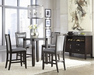 ASHLEY Trishelle D550-13B-D100-40T-524 Round Counter Height Dining Set