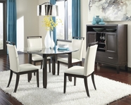 ASHLEY Trishelle D550-15B/D100-50T-01 Round Dining Set