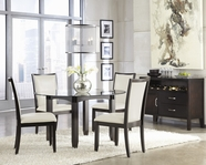 ASHLEY Trishelle D550-15B/D100-50T-03 Round Dining Set