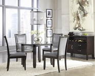 ASHLEY Trishelle D550-15B/D100-50T-05 Round Dining Set