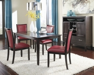 ASHLEY Trishelle D550-25-04 Rectangular Dining Set