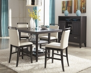 ASHLEY Trishelle D550-32-124 Rectangular counter height dining set