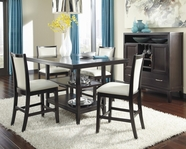 ASHLEY Trishelle D550-32-324 Rectangular counter height dining set