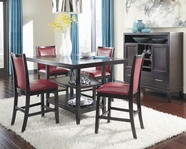 ASHLEY Trishelle D550-32-424 Rectangular counter height dining set