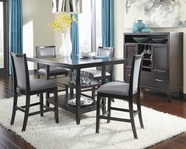 ASHLEY Trishelle D550-32-524 Rectangular counter height dining set