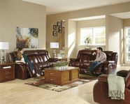 Ashley u89501 Dainan Chestnut 3 Pc Power Reclining Set