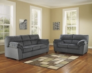 ASHLEY Vergana-Charcoal 3520238-3520235 Sofa Set