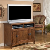 "Ashley Cross Island W319-18 42"" TV Stand (RTA)"