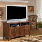 "Ashley Cross Island W319-28 50"" TV Stand (RTA)"