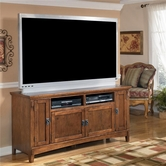 "Ashley Cross Island W319-38 60"" TV Stand (RTA)"
