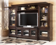 Ashley W551-31-33-34-35 Martini SuiteHome Entertainment Wall
