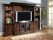 Ashley W668-22-23-24-26 Key Town Entertainment Wall Unit