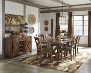 ASHLEY Waurika D644-45/01 Rectangular dining set