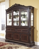 ASHLEY Wendlowe D678-80/81 Buffet and Hutch
