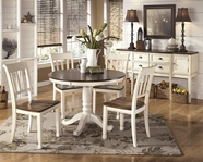 ASHLEY Whitesburg D583-15T/15B/02 Round Dining Set