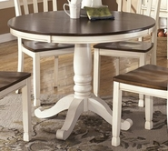 ASHLEY Whitesburg D583-15T-15B Round Dining Room Table