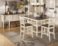 ASHLEY Whitesburg D583-32/224 Square Dining Set
