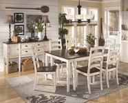 ASHLEY Whitesburg D583-45/01 Rectangular Dining Set