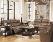 ASHLEY Windmaster DuraBlend 3020087-3020074 Reclining Sofa Set With Power