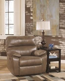 Ashley Windmaster Durablend 3020098 Rocker Recliner W/ Pwr