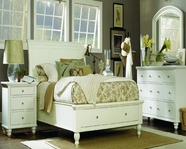 Aspenhome Cambridge Queen Sleigh Bed with Storage ICB-400 EGG collection