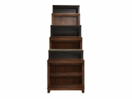 "Aspenhome CB3472 Cambridge Bookcase 74""H 1 fixed & 3 adj shelves"