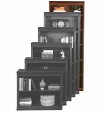 "Aspenhome CC3484 Classic Cherry Bookcase 84""H 1 fixed & 4 adj shelves"