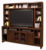 "Aspenhome CL1036-1036H Essentials Lifestyle - Cherry 84"" Console and hutch"