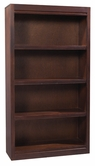 "Aspenhome CLV3460/12 Essentials Lifestyle - Cherry Bookcase (deep) 60"" H 3 fixed shelves"