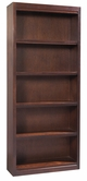 "Aspenhome CLV3478/12 Essentials Lifestyle - Cherry Bookcase (deep) 78""H 4 fixed shelves"