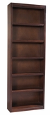 "Aspenhome CLV3494/12 Essentials Lifestyle - Cherry Bookcase (deep) 94""H 5 fixed shelves"
