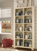 "Aspenhome CT4077 Casual Traditional 77"" Cube + Bookcase"