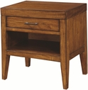Aspenhome I68-451 Tamarind 1 Drawer Nightstand