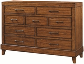 Aspenhome I68-455 Tamarind 9 Drawer Chesser