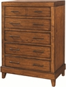 Aspenhome I68-456 Tamarind 5 Drawer Chest