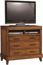 Aspenhome I68-486 Tamarind Liv360 Entertainment/Work Chest