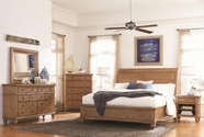 Aspenhome I72-400W-402-403-453-462 Spruce Bay Queen Wood Sleigh Bedroom Set