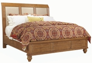 Aspenhome I72-404-406-407 Spruce Bay King Upholstered Sleigh Bed