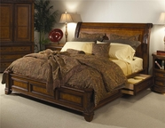 Aspenhome I74-497Q-400-401 Napa Queen Storage Bed