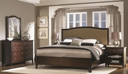 Aspenhome I82-412-403-402-454-462 Lincoln Park Queen Fabric Panel Bedroom Set