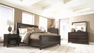 Aspenhome I83-412-402-413-454-462 Modena Queen Panel Bedroom Set