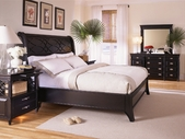 Aspenhome I88-403-2-400-2-402-2 Young Classics Queen Low Profile Sleigh Bed